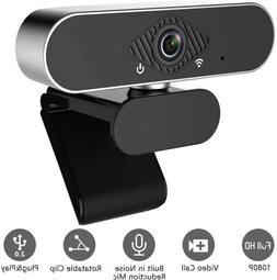1080P Full HD Web Camera USB Webcam w/Microphone For Video S