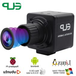 1080P USB Camera HD 30fps /60fps/120fps w/ 4mm Manual focus