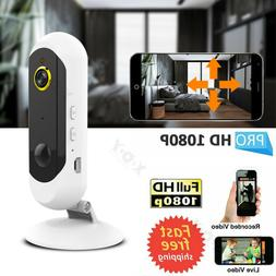 1080P HD Wire-Free Battery Powered Security IP Camera Webcam