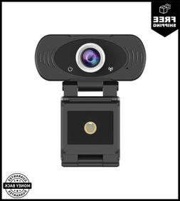 1080p USB Webcam with Built-in Mic Widescreen For Live Strea