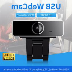 1080P Webcam Autofocus Web Camera Cam For PC Laptop Desktop