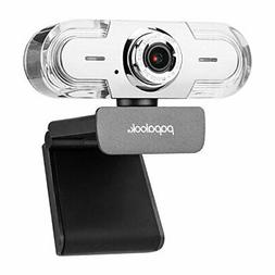 PAPALOOK 1080P Webcam with Microphone PA452 Pro Computer Cam