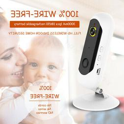1080p wireless battery powered security ip camera