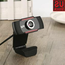 12 Megapixels HD Webcam USB Web Cam Camera w/ MIC for Comput