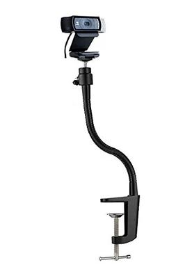 "13.3"" Clamp Gooseneck Mount Camera Jaws Stand for Logitech W"