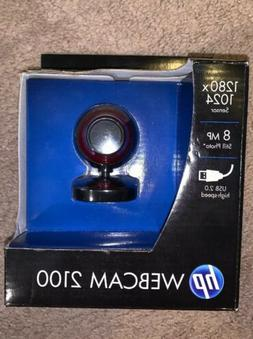 HP 2100 Webcam Red 1280x1024 Sensor 8 MP USB 2.0 YouTube Sky