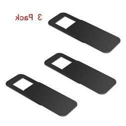3 Pack Webcam Cover 0.027in Ultra-Thin Web Camera Cover For