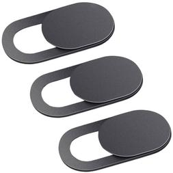 3 x ultrathin webcam camera cover shutter