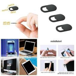 3Pack Webcam Cover 0.03in Ultra Thin iRush Web Camera Cover