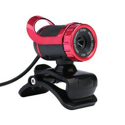 50 Megapixel HD Camera Web Cam with MIC Clip-on for PC Deskt