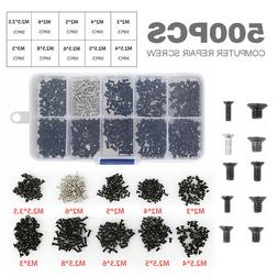 500 Laptop Notebook Computer Screw Kit Set For IBM HP Dell L