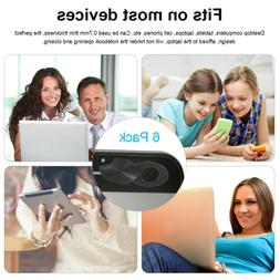 6x Safety Privacy Sliding Webcam Cover Cap Shell Blocker Des
