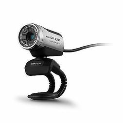 AUSDOM 1080P HD USB Webcam Network Camera with Microphone fo