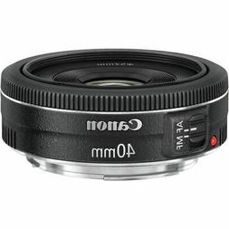Canon EF 40mm f/2.8 STM Pancake Lens with Canon 2400 Case +