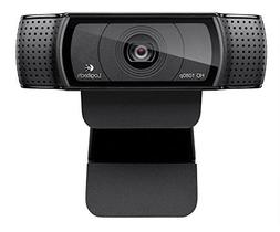 Logitech HD Pro Webcam C920, 1080p Widescreen Video Calling