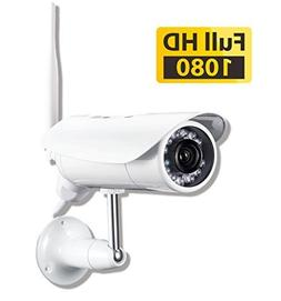 PHYLINK Bullet Pro 1080p Outdoor Wireless WiFi Security Came