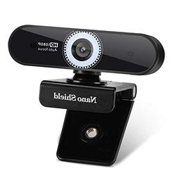 Auto Focus Webcam 1080P Nano Shield N920 Web Camera Noise Ca