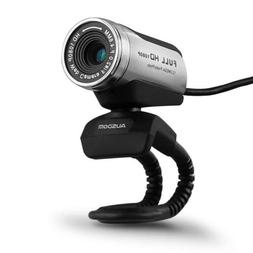 AUSDOM AW615 12MP Full HD USB PC WebCam Video Chat Camera fo
