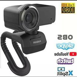 AUSDOM AW635 1080P Streaming Live Webcam for Video Chat on Y
