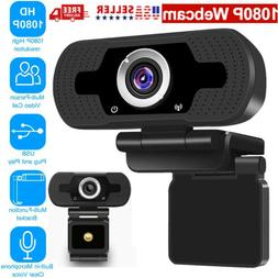BEST 1080P Full HD USB Webcam Web Camera with Microphone for