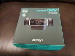 BRAND NEW Logitech C922 Pro Stream Webcam Full 1080p HD 960-