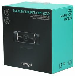 ✅*BRAND NEW SEALED* Logitech C922 Pro Stream Webcam Full 1