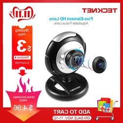 TeckNet C016 <font><b>USB</b></font> HD 720P <font><b>Webcam