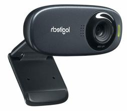 Logitech C310 HD Webcam, 5MP, Black | Brand New