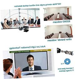 LOGITUBO C920 Webcam for Xbox Streaming HD 1080P Web Cam Wit