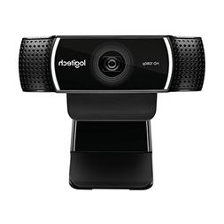 Logitech Full HD C922 Pro Stream Webcam, 1080p Camera Stream