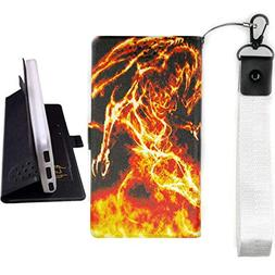Lovewlb Case for Asus Rog Phone Zs600kl Cover Flip PU Leathe