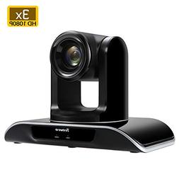 Tenveo Conference Cam 3X Optical Zoom Full HD 1080p USB2.0 P