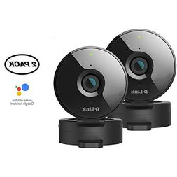 D-Link 2-Pack Wireless-N Network Surveillance 720P Home Inte