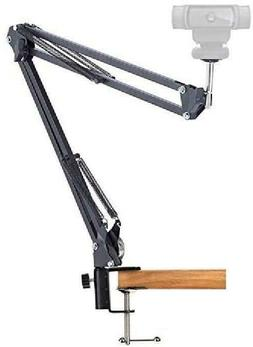 Desk Clamp Mount Suspension Boom Scissor Arm Tripod Stand Ho