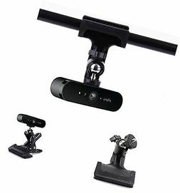 Desk Pipe Handlebar Rotating Clip Clamp Mount Holder Stand f