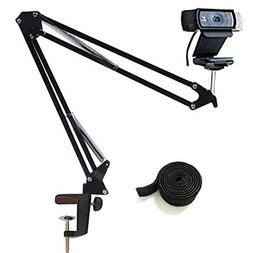 Desktop Webcam Stand Adjustable Suspension Boom Scissor Arm