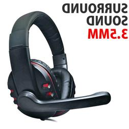 Kenable DH-878 Surround Sound Stereo PC Gaming Headset & Mic