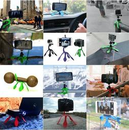 Flexible Portable Purple Tripod for iPhone Digital Camera We