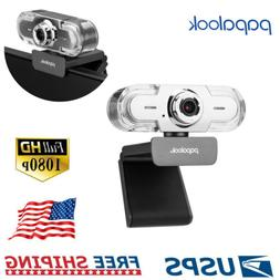 Papalook Full HD Pro 1080P Webcam Camera for Video Recording
