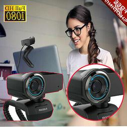 Full HD Pro Streaming 1080P Webcam Camera Widescreen Video C