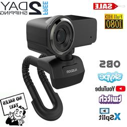 Full HD Pro Streaming 1080P Webcam Camera for Video Recordin