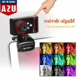 HXSJ Full HD USB Webcam Video Camera with Microphone for PC