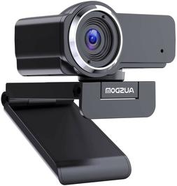 Full HD Webcam 1080P with Microphone, Manual Focus AUSDOM AW