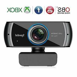 Spedal Full HD Webcam 1536p,Computer Laptop Camera for OBS X