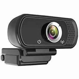 Full Webcams HD 1080P,Built-in Microphone Computer Laptop Ca