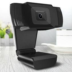 HD 1080P 12MP USB Desktop Webcam Camera MIC Clip-on For Comp