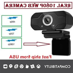 HD 1080p  Webcam PC Digital USB Camera Video Recording with