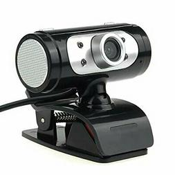 HD 1080P Webcam with Microphone for Desktop Standing and Cli