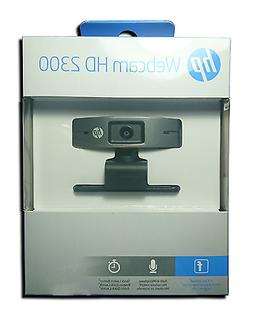 HP HD 2300 Webcam High Definition 720p USB Microphone Origin