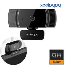 PAPALOOK HD USB2.0 Webcam Camera with MIC for Computer PC La
